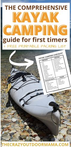 The Ultimate Guide to Your First Kayak Camping Trip (+Packing List)