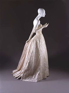 House of Dior ball gown
