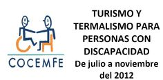 Turismo y Termalismo 2012 para personas con #DiversidadFuncional (PDF)