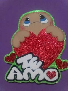 Foam Crafts, Diy Crafts, Heart Template, Ideas Para Fiestas, Lalaloopsy, Origami, Valentines Day, Banner, How To Make