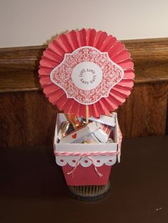 Priscilla's Paperie: THE ARTISTE IN 3D BLOG HOP - flower pot container #Artiste