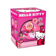 Chocolate já é muito gostoso, imagina se for chocolate da Hello Kitty, que você mesmo pode fazer! A chocolateria Hello Kitty da DTC traz moldes para você criar os chocolates como quiser :)