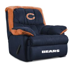 Chicago Bears Home Team Recliner Chair from Imperial International  sc 1 st  Pinterest & Image Detail for - NFL Forum :: - Brandon Marshall in Bears ... islam-shia.org