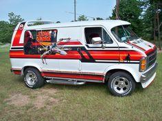 Dodge Ram Van, Chevy Van, Customised Vans, Custom Vans, Volkswagen Transporter, Vw Bus, Star Wars Vans, Old School Vans, Vanz