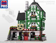 Pretzel Haus Bakery instructions via www,brickbuilderspro.com
