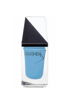 Even if you're not going anywhere near the beach this summer, wear a Capri-inspired blue that'll feel like vacation wherever you're wearing it.  Guishem Nail Polish in 'Capri,' $16; guishem.com.