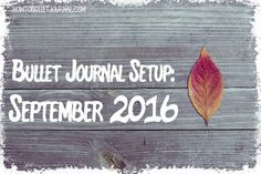 Blogpost-Tuesday! Another blogpost online at http://www.howtobulletjournal.com or at the link in the bio!   September, there it is! Like I mentioned last month, August flew by!  September will bring us a few new things! I moved into a new notebook like you probably know. I'm starting September in a NUUNA notebook