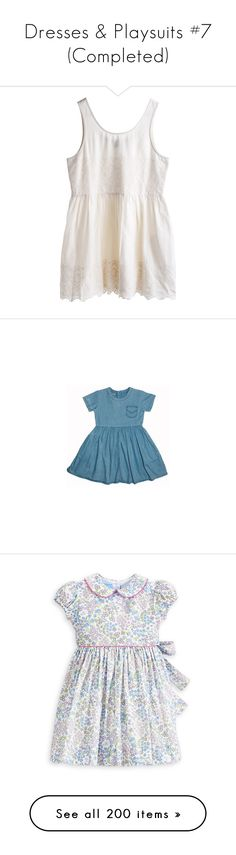 """Dresses & Playsuits #7 (Completed)"" by elisabeth-galfano ❤ liked on Polyvore featuring dresses, tops, vestidos, shirts, mtwtfss weekday, clothes - dresses, blue dress, peter pan collar dress, lining dress and peter pan dress"