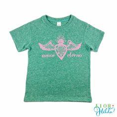 Amor Eterno|| Toddler Vintage Eco-friendly T-Shirt – Flor Hilda Designs