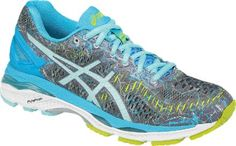 8d3d4f84ee0 ASICS Women s GEL-Kayano 23 Road-Running Shoes Shark Aruba Blue 8.5 Road