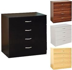 #Riano chest of #drawers 4 #drawer metal handles runners #bedroom furniture wooden,  View more on the LINK: 	http://www.zeppy.io/product/gb/2/201749479179/