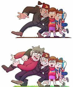 ideas for funny art memes gravity falls Gravity Falls Anime, Gravity Falls Fan Art, Gravity Falls Comics, Gravity Falls Dipper, Dipper And Mabel, Mabel Pines, Dipper Pines, Monster Falls, Gavity Falls