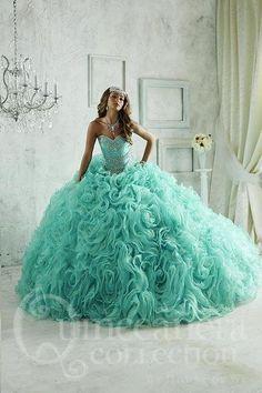 9a6e4a897f7 Quinceanera Collection 26801 Ballgown Formal