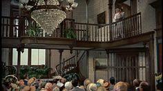 Pollyanna Disney movie Victorian entry hall