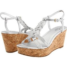 """Kate Spade """"Becca"""" wedge! The perfect height and adorable with sun dresses! Available for $ 198.00"""
