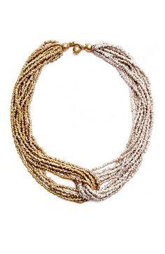Raven   Lily - Hana: Twist Necklace, $112.00 (https://www.ravenandlily.com/hana-twist-necklace/)