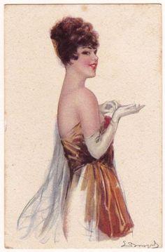 Sergio Bompard Postcard1920