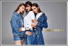 fall-winter - Miss Sixty Miss Sixty, Rain Jacket, Windbreaker, Fall Winter, Denim, Jackets, Fashion, Down Jackets, Moda