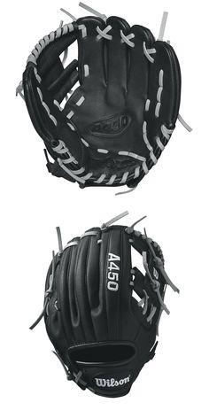 4b6776cb6f8 Baseball and Softball 16021  Wilson A450 Advisory Staff Youth Baseball  Glove 10.75 Rht -