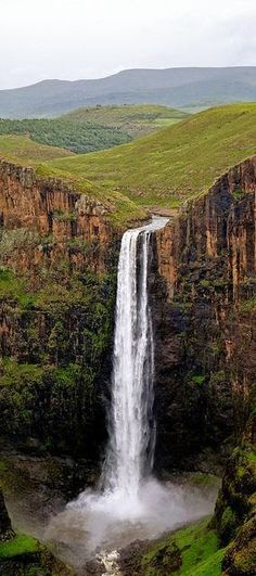 Maletsunyane Falls, Lesotho, South Africa