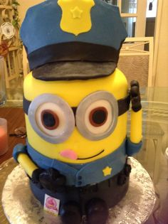 police minion cakes - Google Search