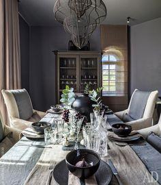 Идеи оформления праздничного стола: подборка с красивой посудой и столовыми приборами | AD Magazine