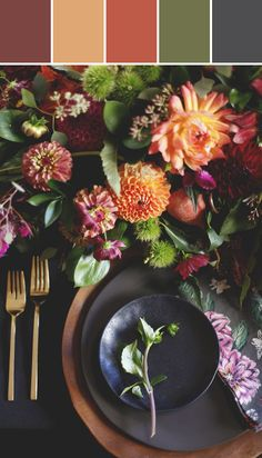 Killer Table Top Palette Designed By Lisa Perrone | Stylyze Creative Director via Stylyze