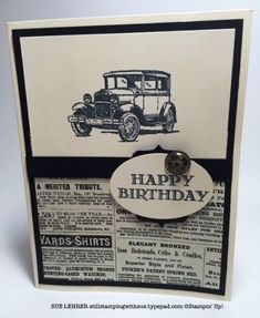 Guy Greetings Stamp Set from Stampin' Up! by dona