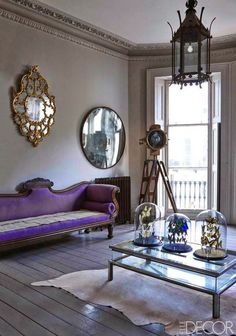 House Beautiful Lavender And Purple Zsazsa Bellagio Like No Other Convex Mirror