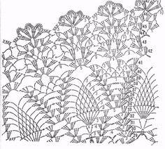 Crochet Patterns of the Center table - Multiple splendor