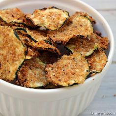 These Oven Baked Zucchini Chips are a top recipe for a reason!  Yum!