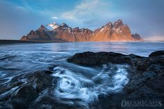 Vesturhorn Mountain in Iceland--Ian Plant - Google+