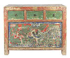 Cómoda con 3 cajones y 2 puertas de Gansu