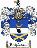 Richardson Coat of Arms / Richardson Family Crest gifts at www.4crests.com