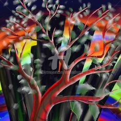 Plötzlich Frost (Digitale Künste) von Manfred Hoppe