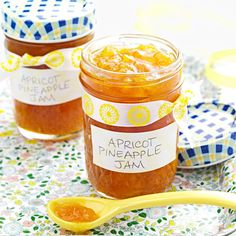 """Apricot Pineapple Jam Recipe -Dried apricots, crushed pineapple and grapefruit juice create a memorable jam. """"The juice is what makes the jam taste so good,"""" says Carol Radil of New Britain, Connecticut."""
