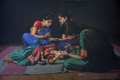 Artist Shashikant Dhotre from Sholapur, India. - Google Search