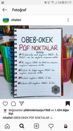 Matematik - My Pin Study Methods, Study Tips, School Notes, I School, Turkish Lessons, Exam Study, Study Hard, Study Inspiration, Education English