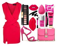 """""""#182"""" by londero-danielle ❤ liked on Polyvore featuring STELLA McCARTNEY, Lime Crime, Victoria's Secret, Yves Saint Laurent, beautyblender, Sephora Collection, Christian Dior and Valentino"""