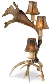 Fallow Antler Candelabra. must have this sometime.