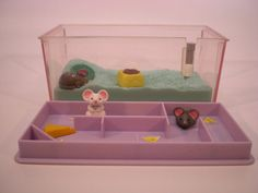 Vintage Littlest Pet Shop Marching Mice with Magic Maze 1992 Kenner $25.00