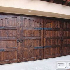 Mediterranean Home Products - Wooden Garage Doors
