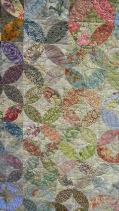 Great scrap quilt called tea leaves
