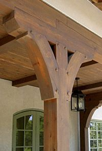 49 Ideas For House Exterior Porch Beams Porch Beams, Front Porch Columns, Side Porch, Front Porches, Front Entry, Cedar Posts, Porch Posts, Deck Posts, Building A Porch