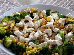 Good Mood, Broccoli, Cake Recipes, Salads, Lunch Box, Food And Drink, Rice, Yummy Food, Chicken