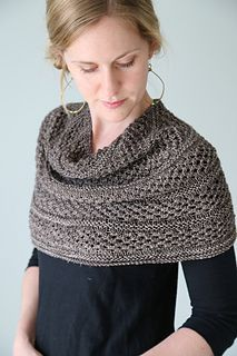 Knit the lovely shawl/cowl hybrid, Starshower by Hilary Smith Callis in our supremely soft A-Series F01.