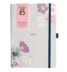Busy B Busy Floral Life Diary 2017