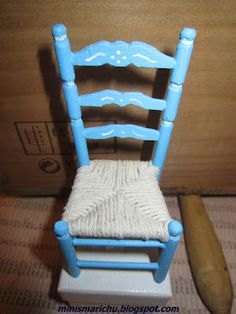 LAS MINIS DE MARICHU: Tutorial for chair