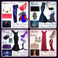 Disney Villain Fashion 4