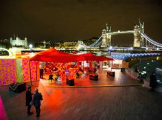 Find the very best of London's Christmas markets and fairs, including festive crafts, shopping and sales, food and drink, and details of events at Christmas markets in London throughout the festive season.